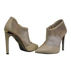 Bottines & low boots à talons DIRK BIKKEMBERGS Beige, camel