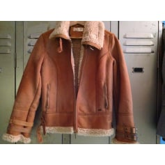 Zipped Jacket LE TEMPS DES CERISES Cognac