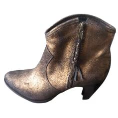 Bottines & low boots à talons SAN MARINA Doré, bronze, cuivre