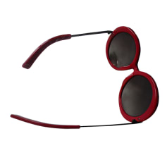 Sunglasses KARL LAGERFELD Red, burgundy