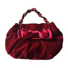 Pochette in tessuto MOSCHINO Rosso, bordeaux
