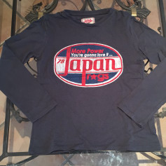T-shirt JAPAN RAGS Gray, charcoal