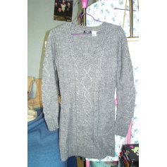 Robe pull LA REDOUTE CRÉATION Gris, anthracite