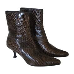 Bottines & low boots à talons ATELIER MERCADAL Marron
