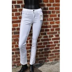 Pantalon slim, cigarette U Collection  pas cher
