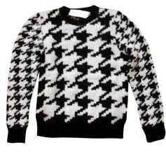 Pullover SANDRO Noir et blanc