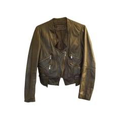 Blousons en cuir Zara Femme   articles tendance - Videdressing 23a412560094