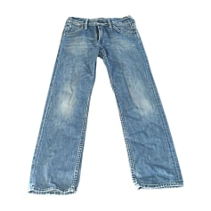Jeans dritto JAPAN RAGS Blu, blu navy, turchese