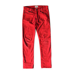 Pants BELLEROSE Red, burgundy