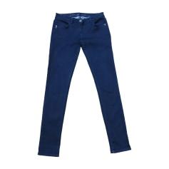 Jeans slim PATRIZIA PEPE Bleu, bleu marine, bleu turquoise