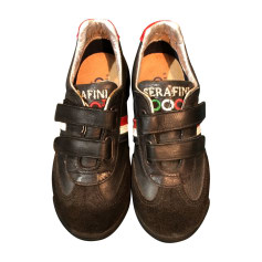 Velcro Shoes SERAFINI Black