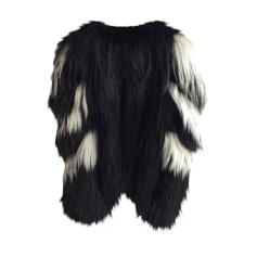 Fur Coat JUST CAVALLI Black