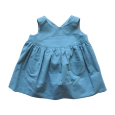 Dress BONPOINT Blue, navy, turquoise