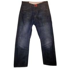 Weitgeschnittene Jeans MARITHÉ ET FRANÇOIS GIRBAUD Blau, marineblau, türkisblau