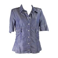 Blouses   Chemises Femme Lyocell de marque   luxe pas cher ... 28ed6a7d706