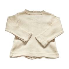 Pullover BABY DIOR Weiß, elfenbeinfarben