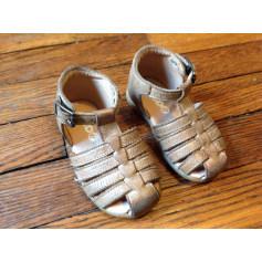 Sandals MOD 8 Beige, camel