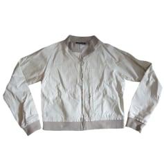 Zipped Jacket DKNY vert anis