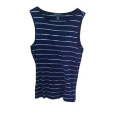 Top, T-shirt RALPH LAUREN Blue, navy, turquoise