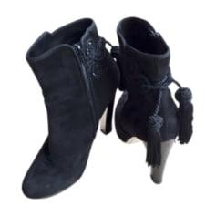 Bottines & low boots à talons AZZARO Noir