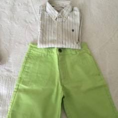 Shorts Set, Outfit NECK AND NECK Green