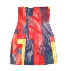 Robe courte ARMANI EXCHANGE Rouge, bordeaux