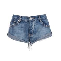 Jeansshorts ONE BY ONE TEASPOON JEANS Blau, marineblau, türkisblau