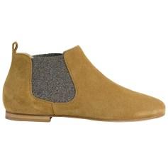 Bottines & low boots plates ANNIEL Beige, camel
