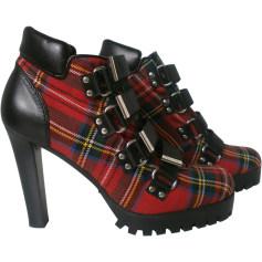 Bottines & low boots à talons DSQUARED2 Noir