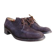 Chaussures à lacets FRATELLI ROSSETTI daim marron 36 TkcpE
