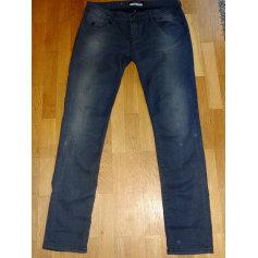 Jeans slim MAISON SCOTCH Gris, anthracite