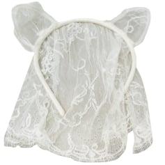 Wedding Hats MAISON MICHEL White, off-white, ecru