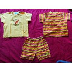 Shorts Set, Outfit CLAYEUX Orange