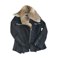 Coat JUST CAVALLI Black