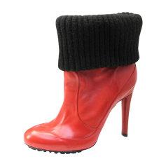 Bottines & low boots à talons PAUL SMITH cuir orange 37 AlrSvbNg