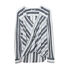 Camicia DEREK LAM Rayée gris & blanc