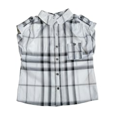 Chemisier BURBERRY Gris, anthracite