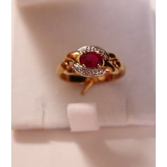 Ring GL PARIS Rot, bordeauxrot