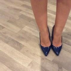 Escarpins PRIMARK Bleu, bleu marine, bleu turquoise