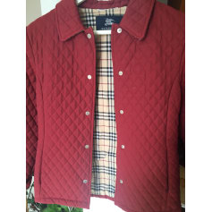 Jacke BURBERRY Rot, bordeauxrot