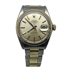 Armbanduhr ROLEX DATEJUST Beige