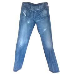 Jeans dritto DIESEL Blu chiaro delavè