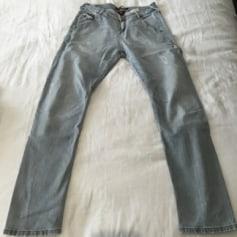 Jeans large, boyfriend MAISON SCOTCH Gris, anthracite