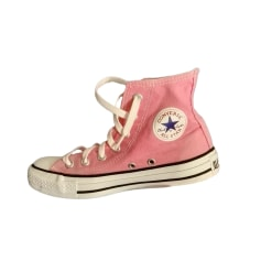Baskets Converse Femme Rose, fuschia, vieux rose : Baskets