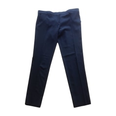 Pantalone slim, a sigaretta CÉLINE Nero