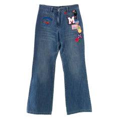 Jeans évasé, boot-cut MANOUSH Bleu, bleu marine, bleu turquoise