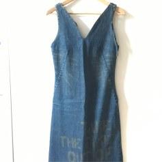 Robe en jeans BILLTORNADE Bleu, bleu marine, bleu turquoise