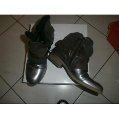 Bottines & low boots plates MJUS Marron