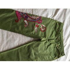 Jeans droit ETRO Vert