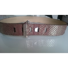 Wide Belt FRANCESCO BIASIA Pink, fuchsia, light pink